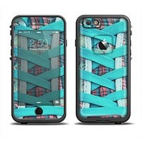 The Turquoise Laced Shoe Apple iPhone 6/6s Plus LifeProof Fre Case Skin Set