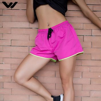 Fitness Yoga Shorts for Women Gym Double Layer Sport Shorts Athletic Jogger Shorts 2 In 1 Exercise Yoga Short
