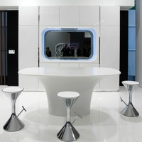 Contemporary style kitchen KARAN by Rastelli | design Karim Rashid