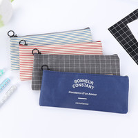 Canvas Zipped Pencil Case from Messy Bunny