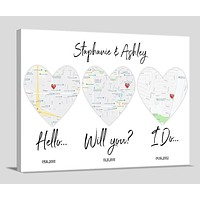 2 Year Anniversary Gift For Wife For Her For Girlfriend For Woman 2nd Anniversary Wedding Gift