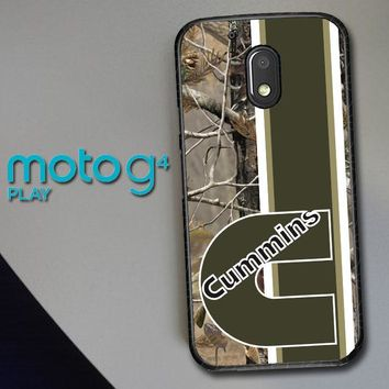 Cummins Logo X2638 Motorola Moto G4 Play Case