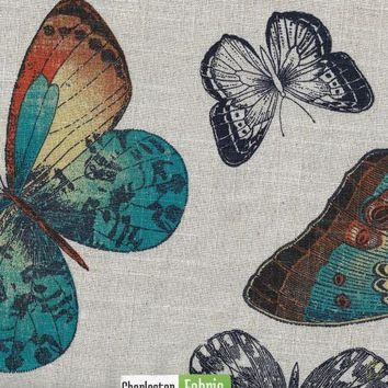 Microfibres Butterfly Charm Fabric