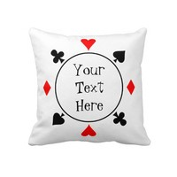 Poker seeds pillows from Zazzle.com