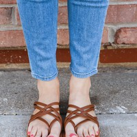 Dreamcatcher Sandals - Tan