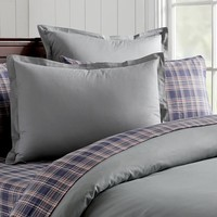 Solid Twill Duvet Cover + Sham