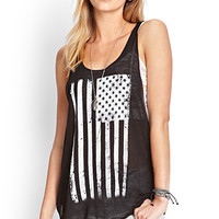 Stars & Stripes Burnout Tank