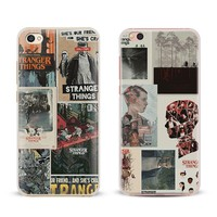 Stranger Things Coque Phone Case Shell Cover For Xiaomi Redmi Note 4 4X 5A 6 6A PRO Mi 8 5 5S PLUS Max A1 Note 2 3