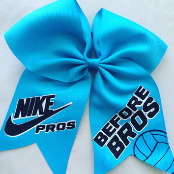Nike Pros Before Bros Hair Bow