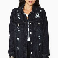 Washborn Rambler Denim Jacket - Black