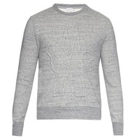 Grey Moncler 3D Sweatshirt