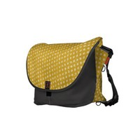 Distressed Urban Polkadots Design Commuter Bag from Zazzle.com