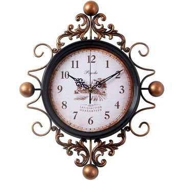 Gothic Wall Hanging Clock, Vintage Collection.