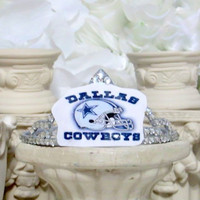 Dallas Cowboys - Cowboys - NFL - NFL Football - Cowboys Headband - Football hair Accessories - Football - Football Gifts - Football Party
