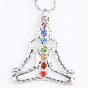 FREE - Chakra Pendant Necklace (Just pay shipping)