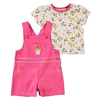 Gerber Baby Girls' 3 Piece Bodysuit, Bloomers, and Hat Set