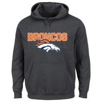 Denver Broncos 1st And Goal Hoodie - Charcoal