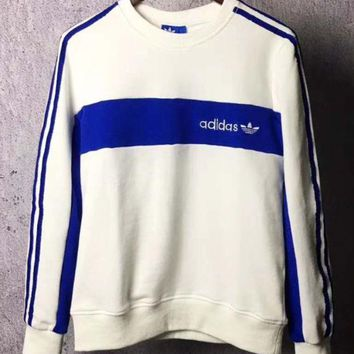 DCCKFC8 Adidas Originals Classic color embroidered hoodies