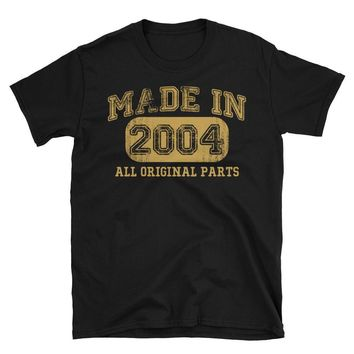 Unisex Made in 2004 all original parts T-Shirt - gift ideas for 13 year old women men