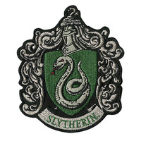 Harry Potter Slytherin Crest Iron-On Patch