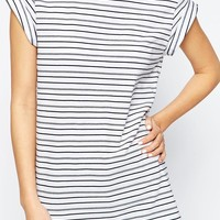 ASOS Boyfriend T-Shirt In Stripe