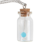 The Legend Of Zelda Navi Bottle Necklace
