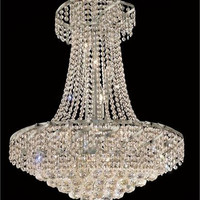 Udell - Hanging Fixture (15 Light Modern Hanging Crystal Chandelier) - 8341D26
