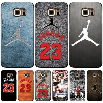 jordan 23 cell phone case cover for Samsung Galaxy Note 3,4,5 E5,E7 ON5 ON7 grand prim