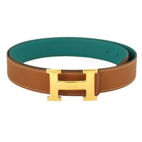 Auth HERMES H Belt mens SwiftxEpson belt
