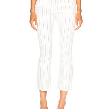 Citizens of Humanity Drew Fray in Light Cream Stripe | FWRD