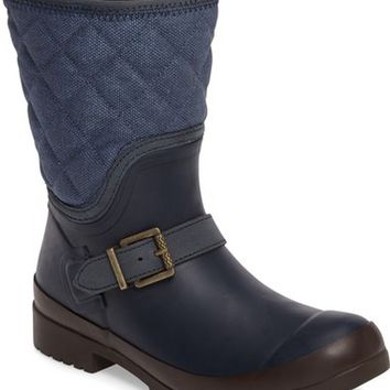 Sperry Walker Canvas Quilted Boot (Women) | Nordstrom