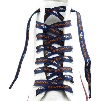 Denver Broncos Shoe Laces - 54""