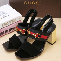 GUCCI Middle heel sandals in Gucci Classic Series