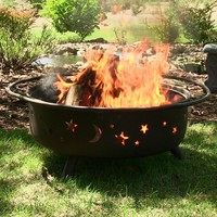 Outdoor Classics Large Cosmic Fire Pit