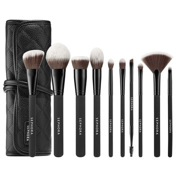 Sephora: SEPHORA COLLECTION : Ready To Roll Brush Set : brush-sets-makeup-brushes-applicators-makeup