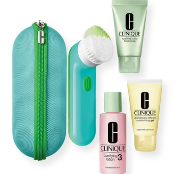 Limited Edition Clean Skin, Great Skin Set For Oilier Skins ($125 Value) - Clinique
