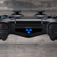 Radiation Playstation 4 (PS4) Dual Shock Controller Light Bar Decal (Pack of 3)