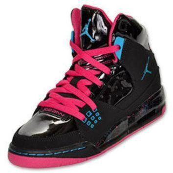 Girls' Grade School Jordan Flight SC 1 Basketball Shoes