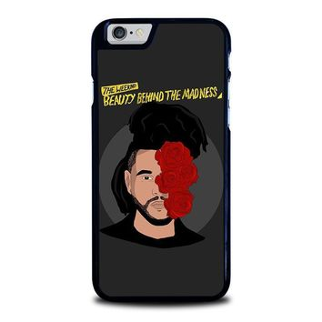 the weeknd bbtm beauty behind the madness iphone 6 6s case cover  number 1