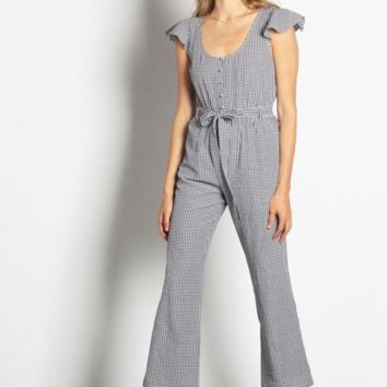 Cecily Gingham Jumpsuit