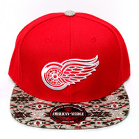 Detroit Red Wings Native Imprint Strapback