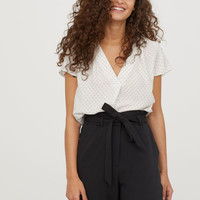 H&M Satin Blouse $17.99