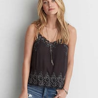 AEO Lace Cami , Black