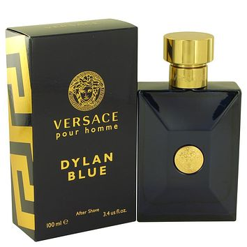 Versace Pour Homme Dylan Blue After Shave Lotion By Versace For Men