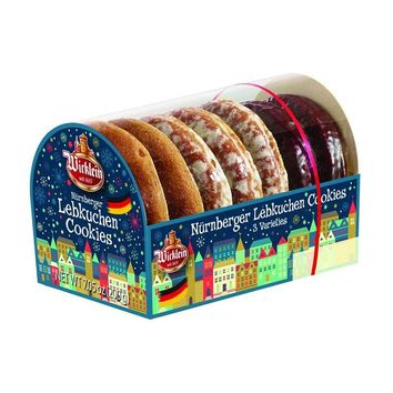 Wicklein Nurnberger Assorted Lebkuchen, 7 oz