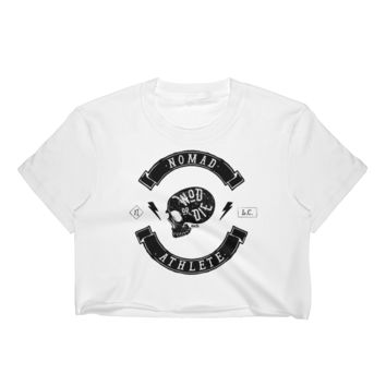 Nomad Athlete (WHITE or BLACK) Women's Crop Top