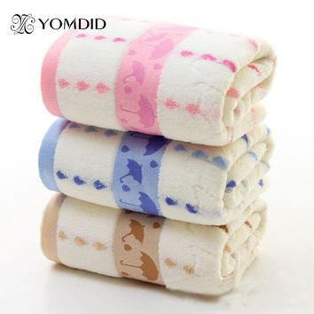 Umbrella Printed Bath Towel Jacquard Thick Towel Soft Healthy Toalla de bano impresa con paraguas