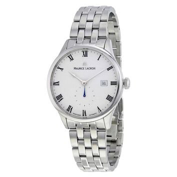 Maurice Lacroix Masterpiece Automatic White Dial Mens Watch MP6907-SS002-112