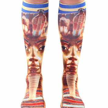 King Tut Knee High Socks