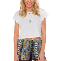 Jo Jo Crop Top - White